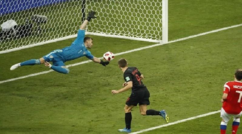 كرواتيا تنهي مغامرة روسيا وتحجز مقعداً في نصف نهائي المونديال