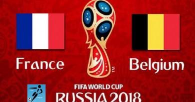 فرنسا وبلجيكا كأس العالم 2018