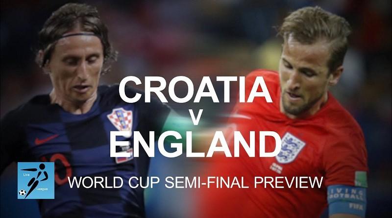 انجلترا وكرواتيا كأس العالم 2018