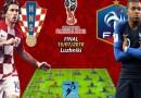 فرنسا وكرواتيا نهائي كأس العالم 2018
