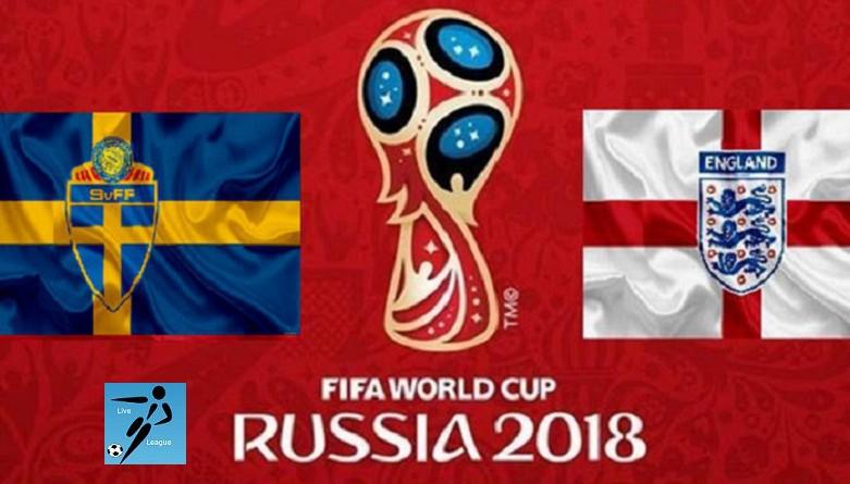السويد وإنجلترا كأس العالم 2018