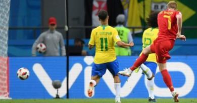 ملخص مباراة البرازيل وبلجيكا كأس العالم 2018