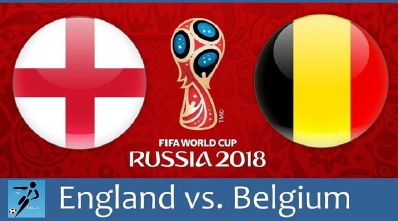 انجلترا وبلجيكا كأس العالم 2018