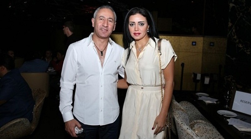 رانيا يوسف تبادل طليقها كلمات رقيقة على مواقع التواصل
