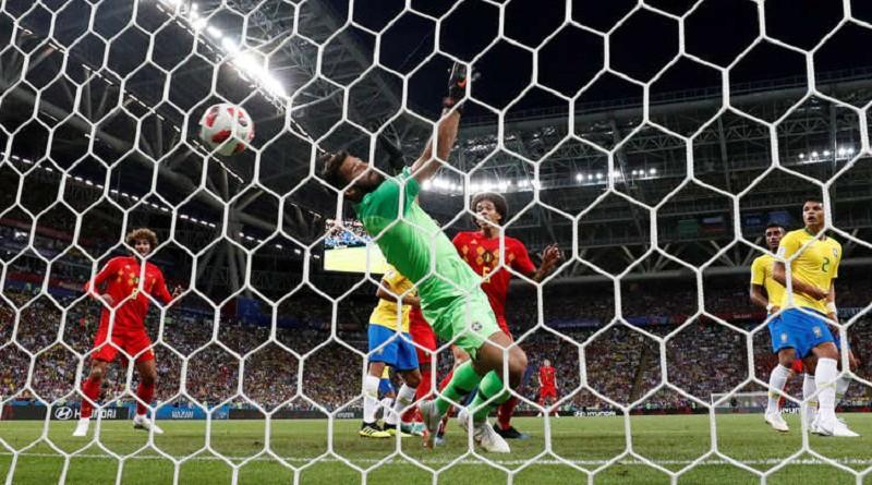 بلجيكا تُقصي البرازيل وتتأهل الى نصف نهائي المونديال
