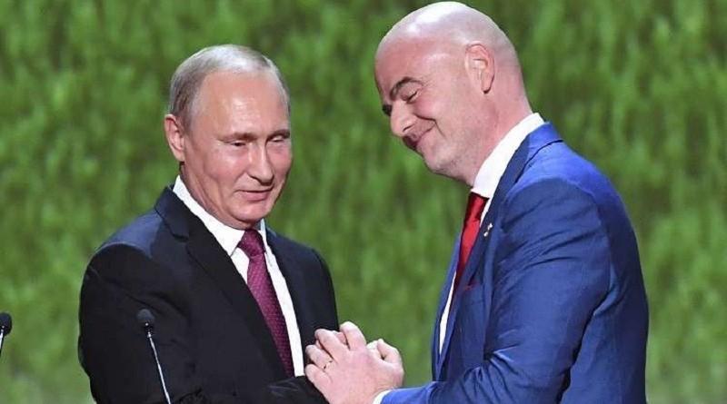 إنفانتينو ...وقعنا جميعا في حب روسيا خلال استضافتها مونديال 2018