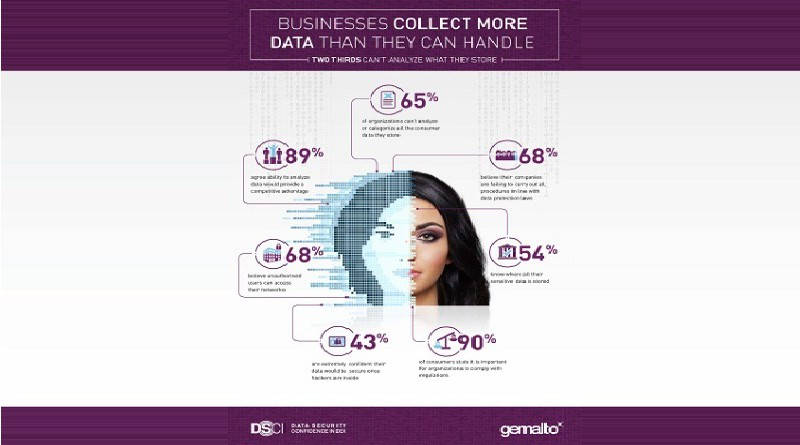 Businesses Collect More Data Than They Can Handle, Reveals Gemalto
