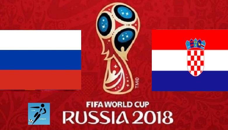 روسيا وكرواتيا كأس العالم 2018