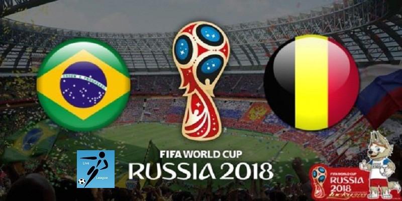 البرازيل وبلجيكا كأس العالم 2018