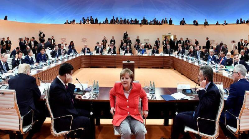 مجموعة العشرين تبحث الحرب التجارية التي اشعلها ترامب
