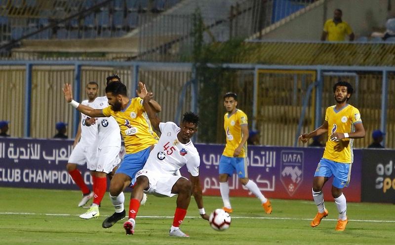 الإسماعيلي يفوز على الكويت في البطولة العربية