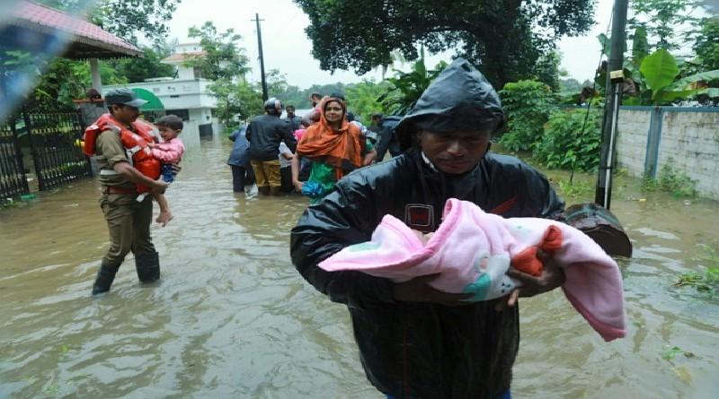 فيضانات كيرالا تخلف100 قتيل على الأقل