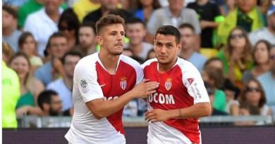 موناكو يحقق اول فوز في الدوري الفرنسي