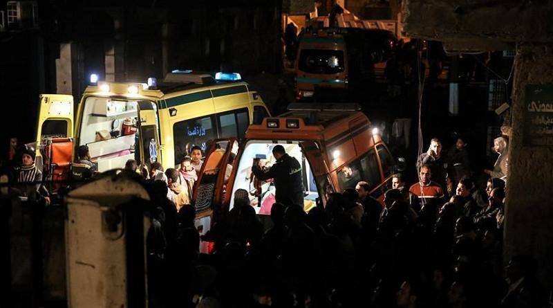مصرع 5 إثر انهيار عقار بصعيد مصر