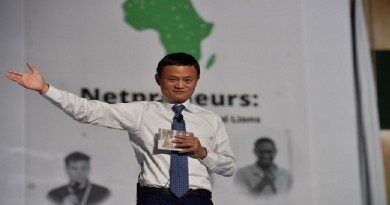 Alibaba Group Founder Jack Ma to Donate US$10 Million to Establish Africa Entrepreneur Prize