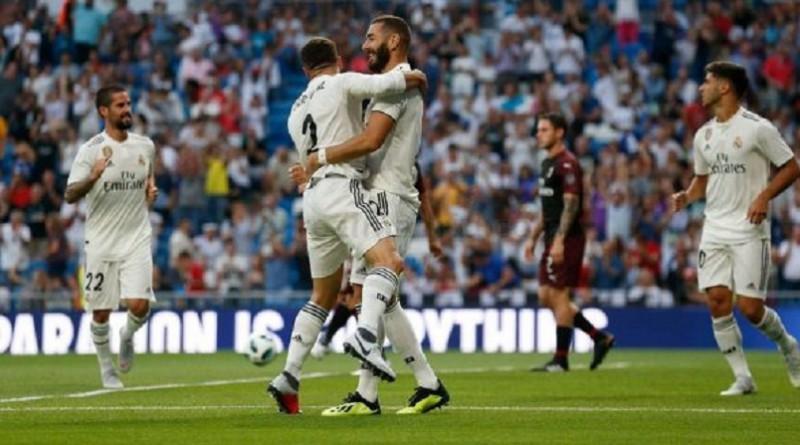 بالصور...ريال مدريد يتوح بكأس سانتياجو برنابيو على حساب ميلان