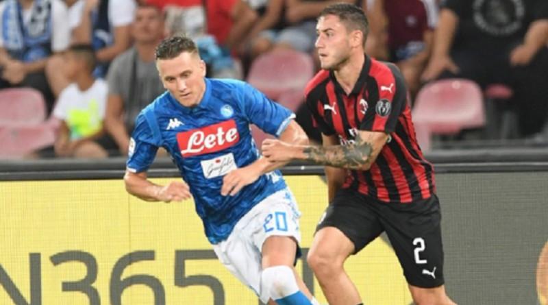 نابولي يحقق فوزاً دراماتيكياً على ميلان في قمة الكالتشيو