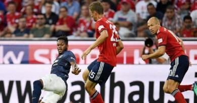 بايرن ميونخ يهزم مانشستر يونايتد ودياً