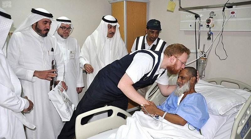 قافلة طبية لنقل الحجاج المنومين بمستشفيات المدينة المنورة إلى المشاعر المقدسة