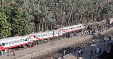 توقف حركة قطارات خط القاهرة - الإسكندرية في مصر