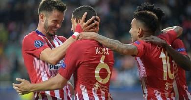 أتلتيكو مدريد يصعق ريال مدريد ويتوج بكأس السوبر الأوروبي