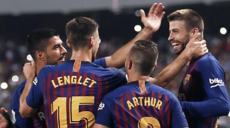 تشكيلة برشلونة المتوقعة أمام الافيس