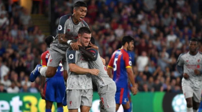 ليفربول يحقق فوزاً ثميناً على كريستال بالاس في البريميرليج