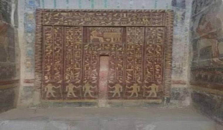 """وزير الاثار يفتتح مقبرة الملك """"ميحو"""" امام الزائرين"""