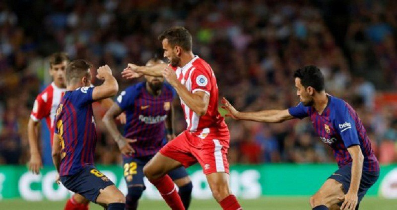 برشلونة يتعثر أمام جيرونا في الليجا