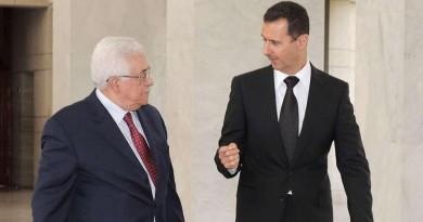 """عباس """"يحيي"""" بشار الأسد ويقدم مقترحات لدمشق"""