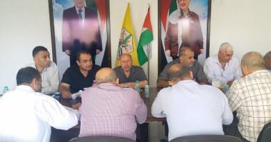 القيادة التنظيمية للاطر النقابية في منظمة التحرير تؤكد على ضرورة ضمان حرية العمل النقابي