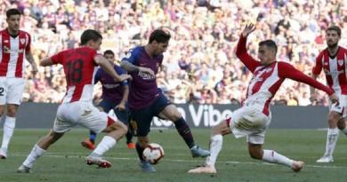 برشلونة يفشل في الفوز للمرة الثالثة على التوالي