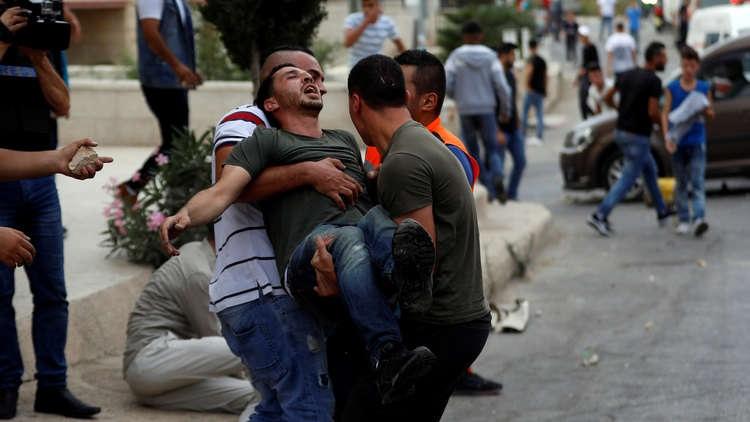 مواجهات عنيفة مع الجيش الإسرائيلي في الضفة