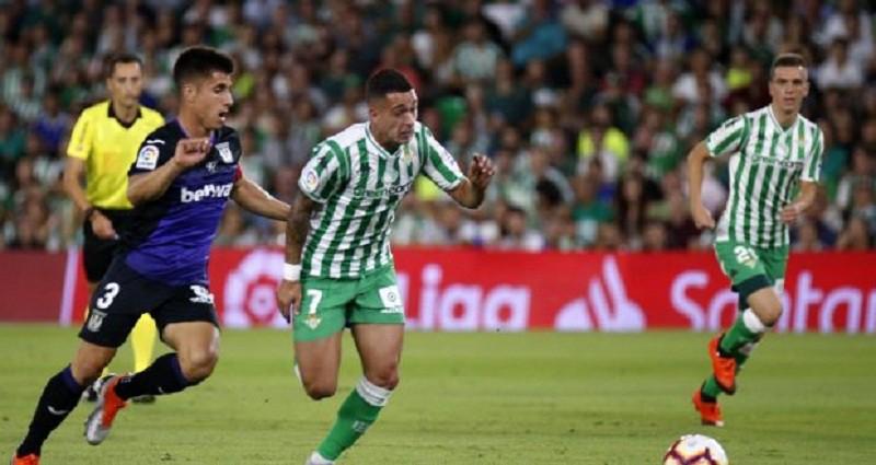 ريال بيتيس يحقق فوز مثير أمام ليغانيس