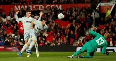 ديربي كاونتي يقصى مانشستر يونايتد من كأس الرابطة