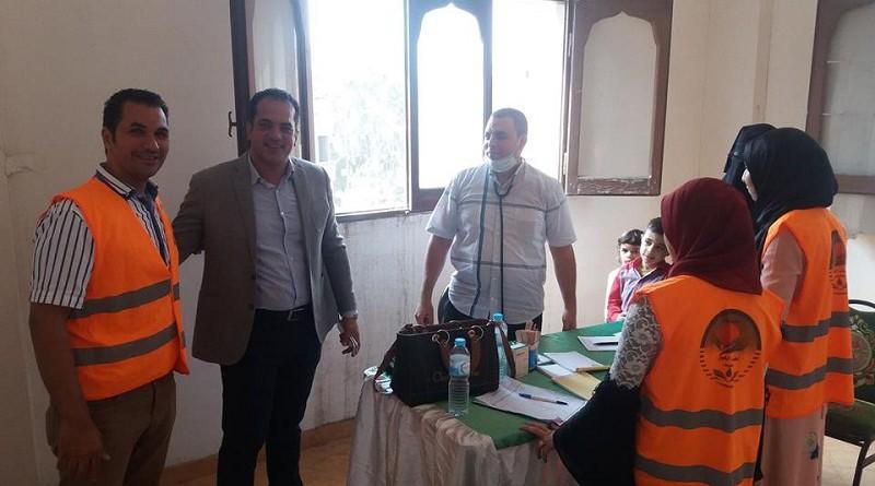 سلام ينظم قافلة طبية للكشف والعلاج المجانى على المرضى بكفر الشيخ