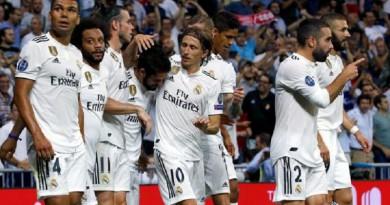 تشكيلة ريال مدريد المتوقعة في مواجهة سسكا موسكو