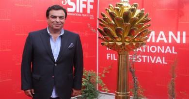 جورج قرداحي يدعو التلفزيونات العربية لتغطية فعاليات السليمانية السينمائي الـ3
