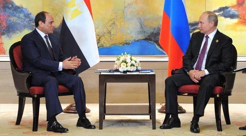 بوتين يلتقي السيسي في سوتشي الروسية