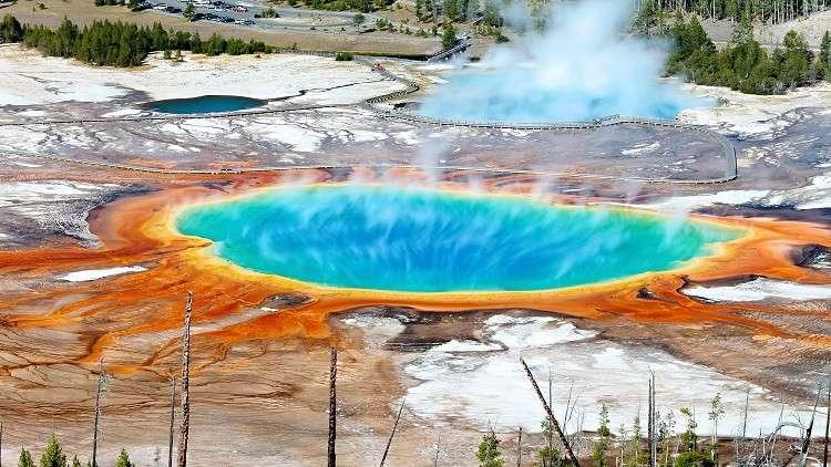 بركان جاهز للانفجار قادر على تدمير البشرية