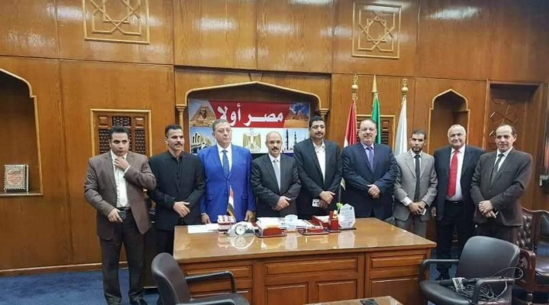 بالصور: دار علوم القاهرة تكرم رئيس المجلس القومي للتنمية الزراعية وشئون المصدرين