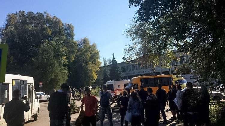 انفجار في القرم الروسية يودى بعشرات القتلى والجرحى