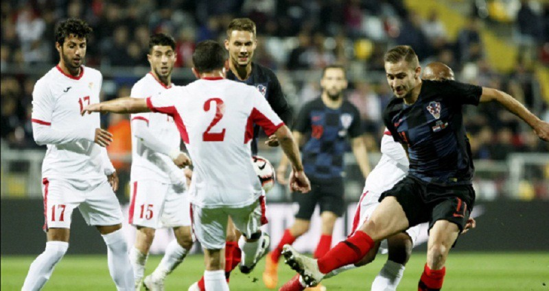 كرواتيا تهزم الأردن وديا