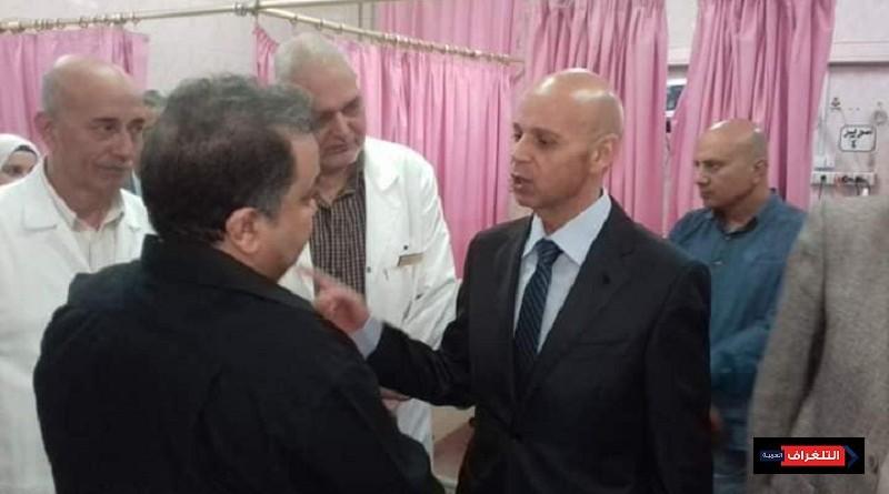 مسعود يشدد بسرعة تشغيل قسم القسطرة القلبية في زيارة مفاجئة لمستشفي الزقازيق العام