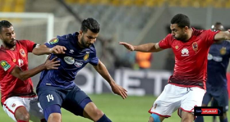 الأهلي والترجي في مباراة ذهاب نهائي دوري أبطال افريقيا