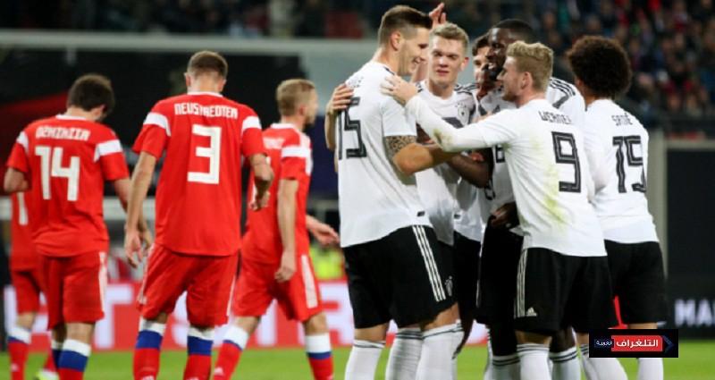 اهداف مباراة ألمانيا وروسيا
