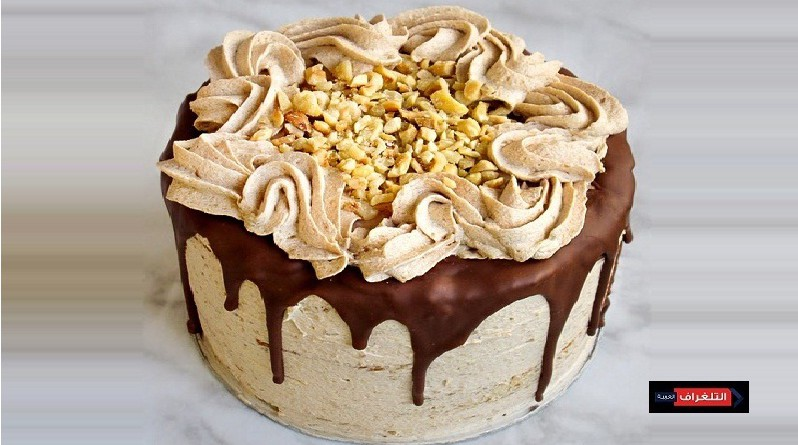 HAZELNUT MOUSSE COCONUT CAKE