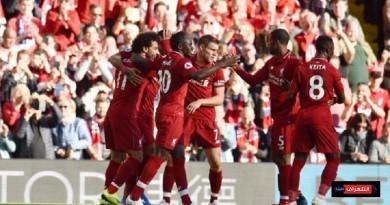 تشكيلة ليفربول الرسمية في مواجهة النجم الأحمر
