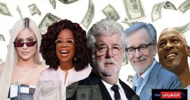 أغنى مشاهير أمريكا لعام 2018