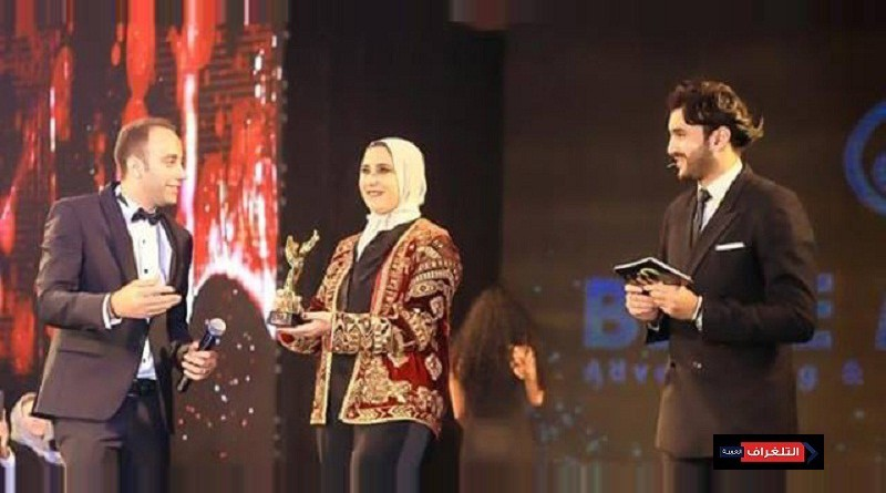 """تكريم المصممة هدى بنمليح في مهرجان """"الشرق الاوسط للموضة"""" بالقاهرة"""
